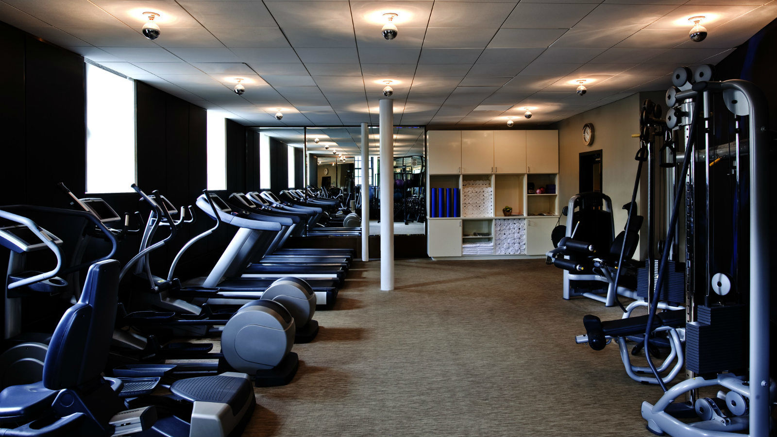 Downtown Washington D.C. Hotel Features - Fitness Center