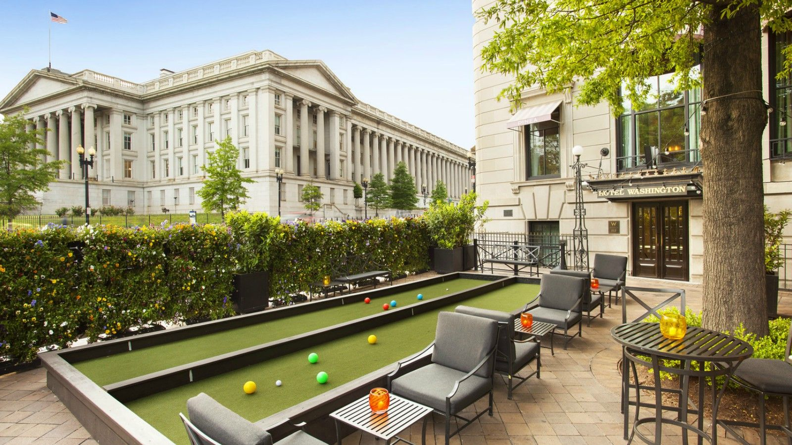 W Washington D.C. - Pinea Patio - Day